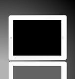 White computer tablet Stock Photography