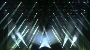White concert light Royalty Free Stock Photo
