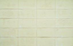 White concrete block wall Stock Photography