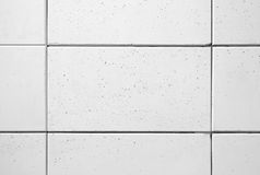 White concrete blocks Royalty Free Stock Photo