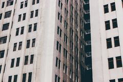 White Concrete Building With Glass Windows Royalty Free Stock Photos