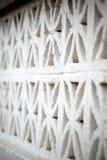 White concrete fence Royalty Free Stock Image
