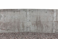 White concrete fence Stock Photo
