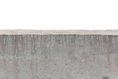 White concrete fence Stock Image