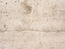 White concrete gravel wall Stock Photography