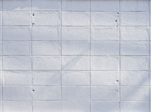 White concrete tile wall background textured Royalty Free Stock Images