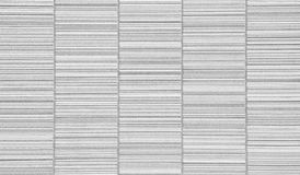 White concrete tile wall Royalty Free Stock Image