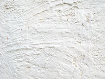 White concrete wall Stock Image