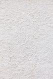 White concrete wall as background or texture. Stock Photo