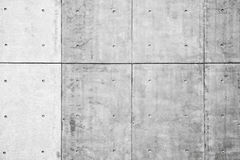 White concrete wall, background photo Royalty Free Stock Images