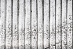 White Concrete Wall Background. Black and white macro photo close up Stock Photography