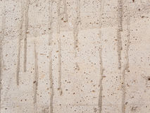 White concrete wall Stock Photography