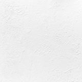 White concrete wall with plaster. Background texture Stock Images