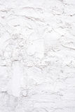 White concrete wall texture with paint. Old modern and contemporary empty wall in interior Stock Photos