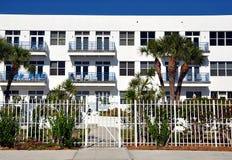 White Condominiums Stock Image