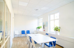 White conference room Royalty Free Stock Images