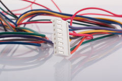 White connector Royalty Free Stock Images