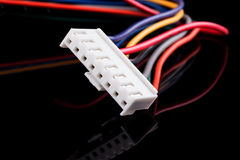 White connector Stock Image