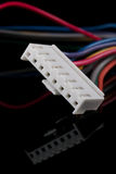 White connector Stock Photography