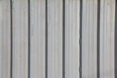 White Construction Galvanised Iron Stock Photo