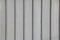 White Construction Wall. White Construction Galvanised Iron Wall background royalty free stock images