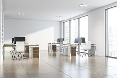 Free White Consulting Company Office Interior Royalty Free Stock Photos - 160859978