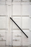 White container doors Royalty Free Stock Photos