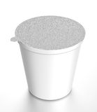 White container of food Stock Photo