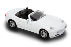 White Convertible Royalty Free Stock Photo