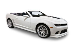 2014 Camaro Convertible isolated on white Stock Image