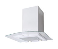 White cooker hood Stock Photos