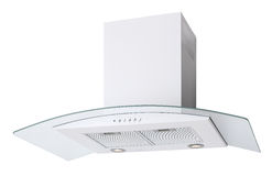 White cooker hood Stock Images