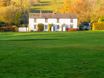 White coppice cottage Royalty Free Stock Photo