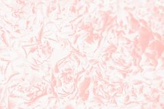 White and coral color background with a delicate rose floral pattern. Absract background royalty free stock images