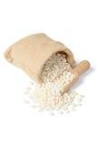 White corn grits, tilt shift lens Stock Images