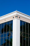 White corner of building Royalty Free Stock Photos