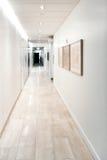 White corridor Royalty Free Stock Photo