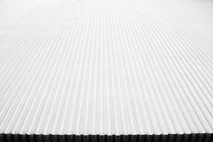 White Corrugated Board stock photos