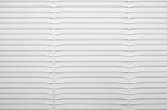 White Corrugated Cardboard Royalty Free Stock Photography