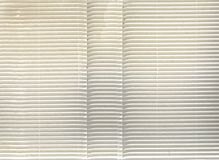 White corrugated cardboard Royalty Free Stock Images
