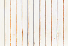 White corrugated metal texture surface Royalty Free Stock Photos