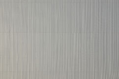 White corrugated metal texture surface Royalty Free Stock Images