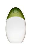 White cosmetic bottle Stock Image