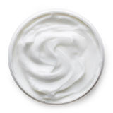 White cosmetic cream Stock Photography