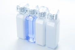 White cosmetic tubes Stock Photo