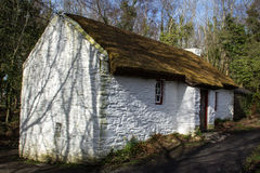 White Cottage Royalty Free Stock Photo