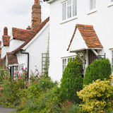 White cottages, Royalty Free Stock Photo