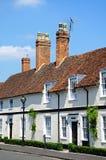 White cottages, Stratford-upon-Avon. Stock Images