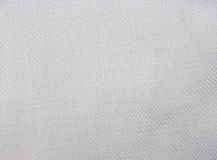 White cotton. Fabric with a fine herringbone/crosshatched pattern Royalty Free Stock Photo