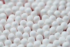 White cotton buds Royalty Free Stock Photo